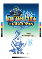 A Blend Above- G.F.Flour-Front Label [48oz.] by awakenedcreations