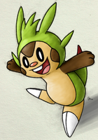 Chespin All Day by randomouscrap