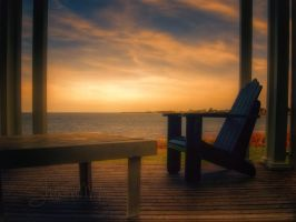 Adirondack Chair in Nova Scotia by ShawnaMac