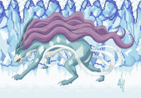 Suicune Used Sheer Cold by Mewstor