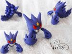 Mega Gengar by VictorCustomizer