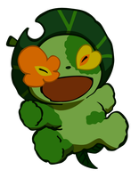 Green Man by Narusailor