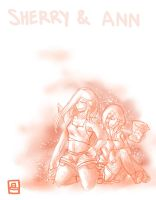 Sherry and Ann by SarahKahlan