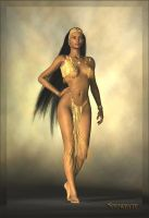 African Princess by Snowbyte