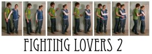 fighting lovers 2 by syccas-stock