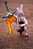 LoL: Bunny Riven by pwennies