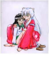 Inuchan and Kagome by Jini--Chan