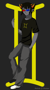 Gemini: Sollux by Melody-Musique