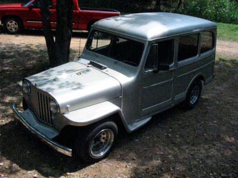 1948 jeep station wagon by Levn