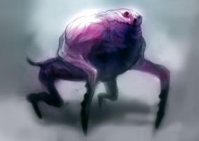 Speed paint crab dog by torvenius