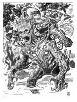 Rocket And Groot by deankotz