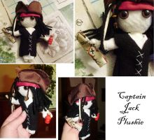 Captain Jack Plushie Take 2 by supermutts