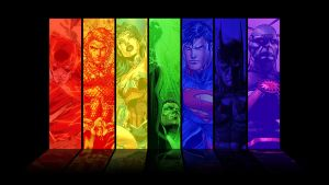 Justice League Spectrum by tenispal7