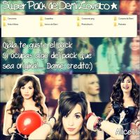 Mega pack de Demi Lovato by Aliice15