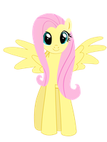 Fluttershy Yay Vector Version by CrimsonMatt52