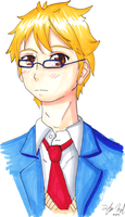 Glasses Akihito by Toramelle