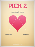 Pick 2. An unpleasant truth. by pica-ae
