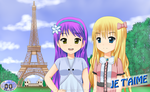 Tenko et Marina  Je T'aime (French Buddies Debut) by RJAce1014
