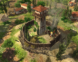 Roman Watchtower by LordGood