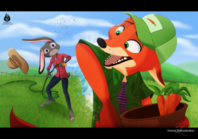 CUT IT OUT, CARROTS! by Venetia-TH