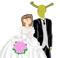 me and shreks wedding by shrekswife
