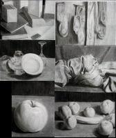 Schoolwork:Charcoal Group by Andoledius