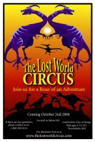 The Lost World Circus by GingerAnne