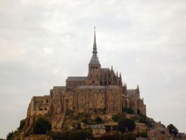 Mont Saint-Michel by Harsed