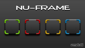Nu-Frame Icons by yrmybybl