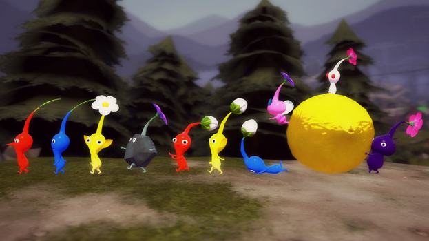 [SFM] A Pikmin march by TheAdorableOshawott