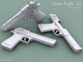 Desert Eagle .50 by Erghize