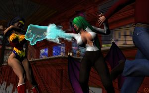 DIANA V MORRIGAN PT3 by lordcoyote