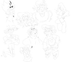 MSG sketch dump by PaperBagHero