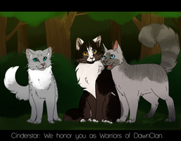 Warriors of DawnClan +Commission+ by PatchyFallenstar