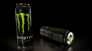 Monster Energy Drink by DeargRuadher