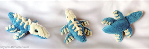 Fakemon Liupleton Mini Plush by xSystem