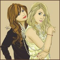 Mary-Kate and Ashley by daniesque