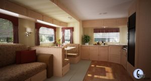 RV Trailer 1 Main Sitting Area by talonboy3