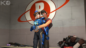 [TF2/OW-SFM] One Good Looking Cadet by Kwarduk