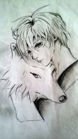 Wolf Child by PsychedelicDreams02