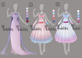 :: Adoptable Outfit 10: LAST ONE OPEN :: by VioletKy