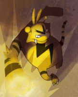 ELECTABUZZ used THUNDERPUNCH by ThermalFaerie