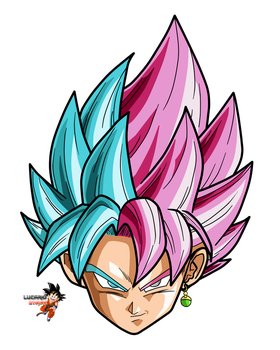 Goku Super Sayajin Blue Rose by lucario-strike