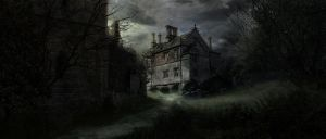Haunted Chateau by GordonTarpley