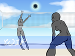 Volleyball YCH by swiftyuki