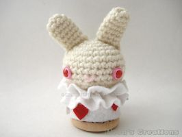 White Rabbit Moon Bun - Trial Version - Plush You by MoonYen