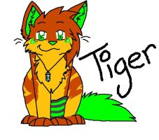 Tiger by CinderIzAwesome