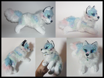 SOLD - Aurora arctic wolf by goiku