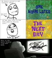 Rage Comic - Best Drawing Ever by Catabatik