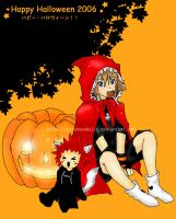 Axel x Sora - Happy Halloween by shirononekojin